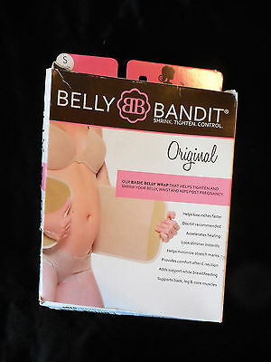Belly Bandit Maternity Post Pregnancy Original Wrap, Nude~ Size Small