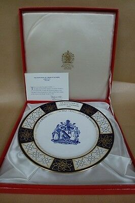 Spode plate - The Institution of Chemical Engineers (IChemE) Jubilee Plate 1982