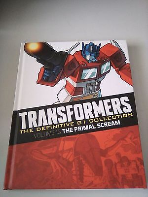 Transformers The Definitive G1 Graphic Novel Collection Volume 16 Primal Scream