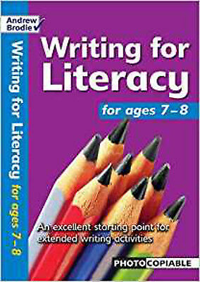 Writing for Literacy for Ages 7-8 (Writing for Literacy), New, Brodie, Andrew, R
