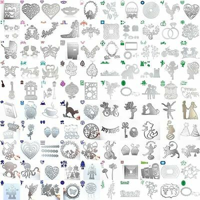 New 200 Type Metal Cutting Dies Stencil Scrapbook Paper Card Craft Embossing DIY