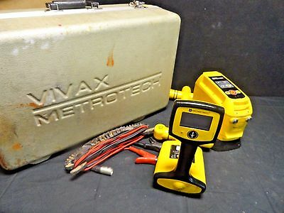 Vivax Metrotech VM850 TX Long Distance Line Locating System Pipe & Cable Locator