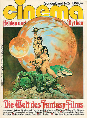 CINEMA - Die Welt des Fantasy-Films Sonderband Nr.5 - Vintage Video Kino - B2714