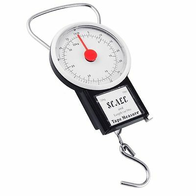Travel Suitcase Baggage Luggage Scale With Tape Measure 32Kg Portable Uk Seller