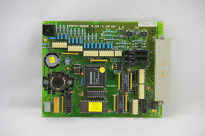 Bostik-Tucker B104 E100 624 PC CPU Circuit Board NE 4497E 12MHz Microcontroller