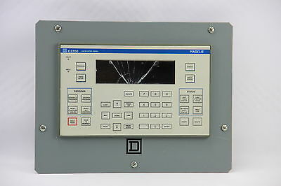 Square D C1700 Data Entry Panel Operator Interface 24VDC 15W Control Display