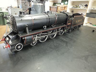 Live Steam Engine Locomotive 4-6-0