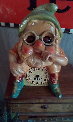 old rare DOC from Snow White clock with moving/ ticking eyes 1930s? Not Oswald
