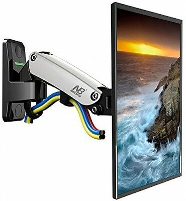 StandMounts Full Motion Gas Spring Articulating Swivel TV Wall Mount Bracket 17