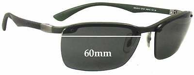 e015c05a10 SFx Replacement Sunglass Lenses fits Ray Ban RB8312 Sunglasses - 60mm wide