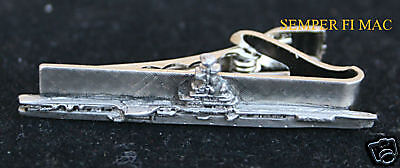 USS Franklin CV-13 TIE BAR CVA CVS US NAVY VETERAN PIN UP GIFT WOW