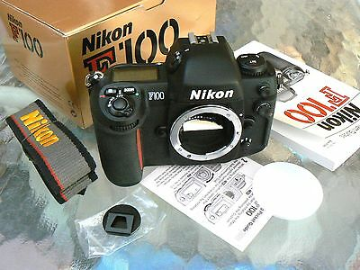 Nikon F100 Camera Body *pro 35Mm Slr Camera *mint In Box