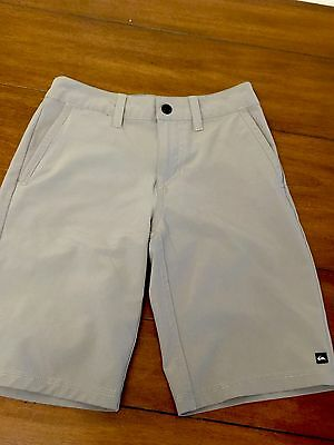 Quiksilver Boys Kids Amphibian Swim Shorts Trunks Grey Size 22 / 8