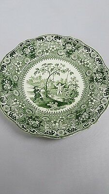 Antique 19th Century Staffordshire Pattern Plate