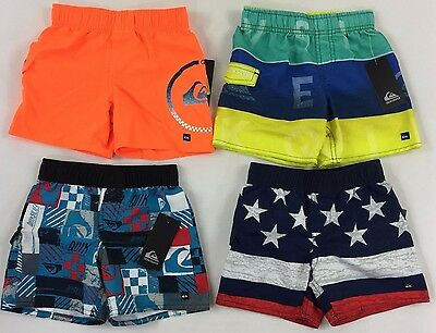 Infant Baby Boy's Quiksilver Swim Board Shorts