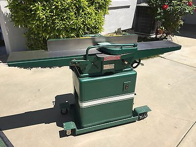 """POWERMATIC MODEL 60 8"""" WIDE 1Ph 2hp  JOINTER with Mobile base"""