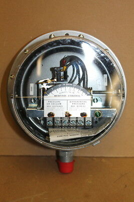 Gas pressure/Differential pressure switch, 1-30 WC,  PG-7200-804-P1, Mercoid