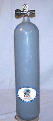 71 Cu.Ft. OMS Steel Scuba Tank with OMS PROValve for Single or Doubles Manifold