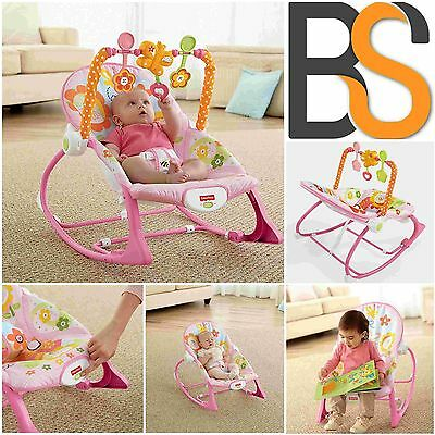 Toddler Rocker Bouncer Seat Baby Infant Chair Sleeper Swing Toy Travel Portable