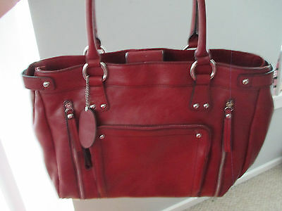 Large Leather Tote Bag/Laptop Case. Gorgeous. Mint. Never Used. Bargain!!!