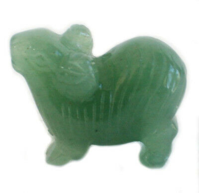 FENG-3705-Small Jade Sheep Statue