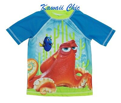 117aeaffb8 DISNEY FINDING DORY Swimwear Rash Guard Little Boys Toddler 4T ...