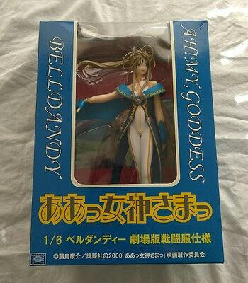 Ah! My, Goddess, Belldandy, 1/6 Statue, Blue Battle Dress, Anime