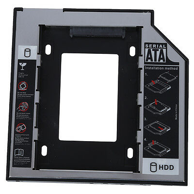 B9 12.7mm Sata To Sata 2nd Hard Drive Hdd DVD Caddy For HP Pavilion DV4 DV5 DV6