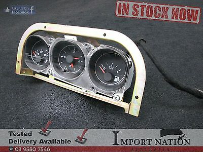 Alfa Romeo 916 Gtv Used Fuel Temperature Time Gauge Set - Spider 03