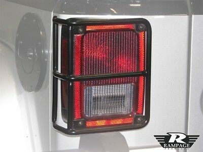 Tail Light Guard Rampage 88660 fits 07-16 Jeep Wrangler