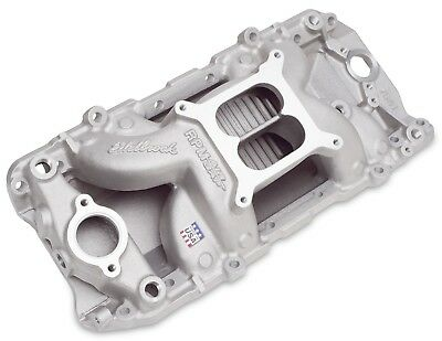 Engine Intake Manifold-RPM Air-Gap 2-0 Edelbrock 7561
