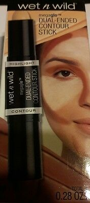 Wet N Wild Dual Ended Contour Stick  Light/medium #751A  New Spring 2017