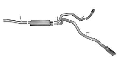 Exhaust System Kit-Cat Back Dual Extreme Exhaust Gibson Perf Exhaust 5658