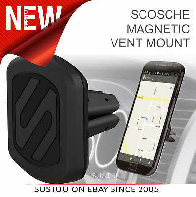Scosche Magic Mount Vent2 Car Holder GPS iPhone Smart Mobile Phone Tablet - NEW