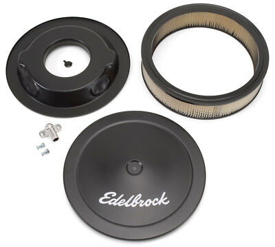 Air Cleaner Assembly-Signature Series Black Edelbrock 1223