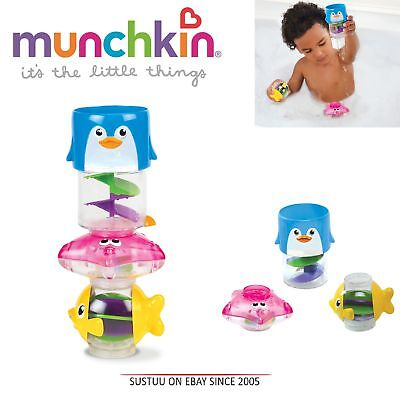 Munchkin Wonder Waterway Baby Bath Time Toddler Waterfall 3-in-1 Play Toy