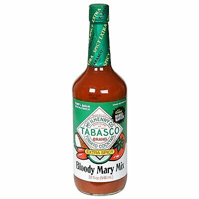 KEHE-11210001527-Tabasco Extra Spicy Bloody Mary Mix 32 Ounce (Pack Of 6)