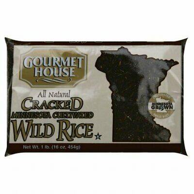 KEHE-17400161163-Gourmet House Cracked Wild Rice, 16-Ounce (Pack of 6)