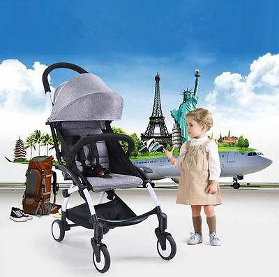 Toddler Kids Pushchair Lightweight Mini Baby Pram Stroller Buggy Travel System