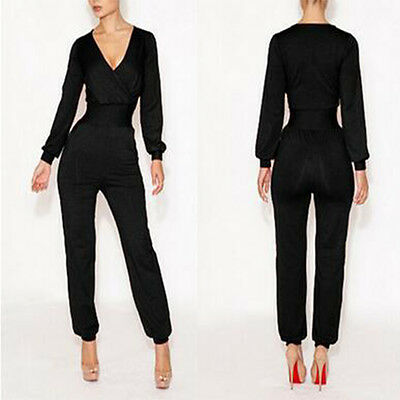 Fashion Women Playsuit Bodycon Party Jumpsuit Romper Trousers Dress Clubwear