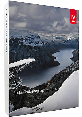 Brand New Adobe Photoshop Lightroom 6 - Fast Delivery in 1-3 hours