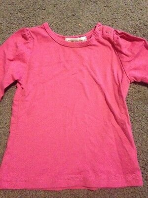 Baby Girls Long Sleeved Top Size 0-3 Months EUC