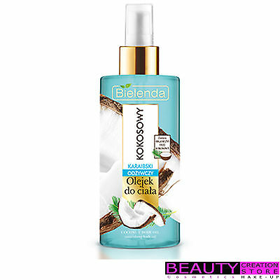 BIELENDA Nourishing Body Oil Caribbean Coconut 150ml BN075