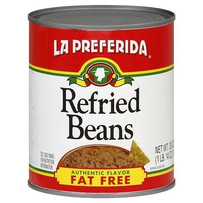 KEHE-71524102655-La Preferida Refried Beans Fat Free, 30-Ounce (Pack of 12)