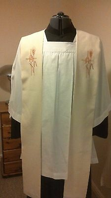 clergy priest stole vestment embroidered