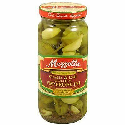 KEHE-73214001194-G L Mezzetta Peppers, Glc&Dill Pprncni, 16-Ounce (Pack of 6)