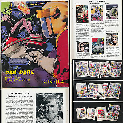 1993 DAN DARE Catalogue CHRISTIE'S AUCTION Digby MEKON Sondar FRANK HAMPSON