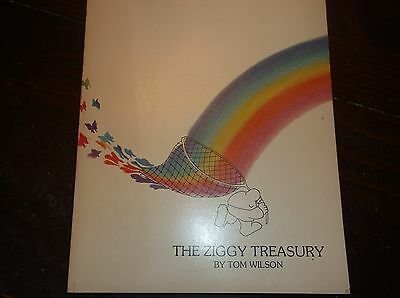 Large Paperback THE ZIGGY TREASURY by Tom Wilson/1977 Universal Press