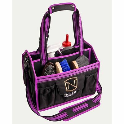 NOBLE OUTFITTERS EQUINESSENTIAL TOTE/GROOMING BAG in BLACKBERRY
