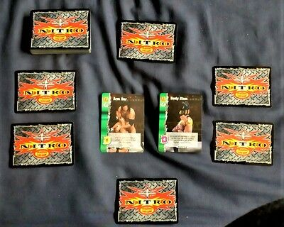 Nitro Wcw Trading Cards 46 Individual Edition One Cards In Decent Condition!!!